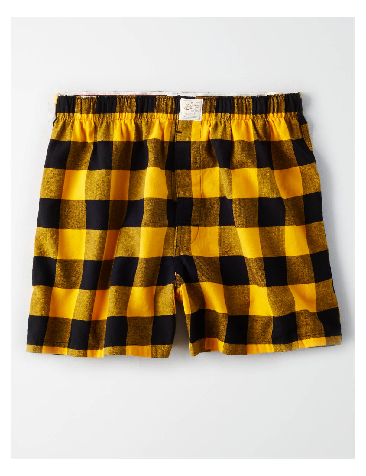 Display product reviews for AE Buffalo Check Flannel Boxer