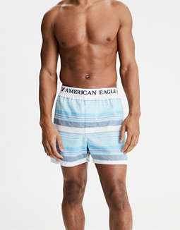 AEO Striped Poplin Boxer