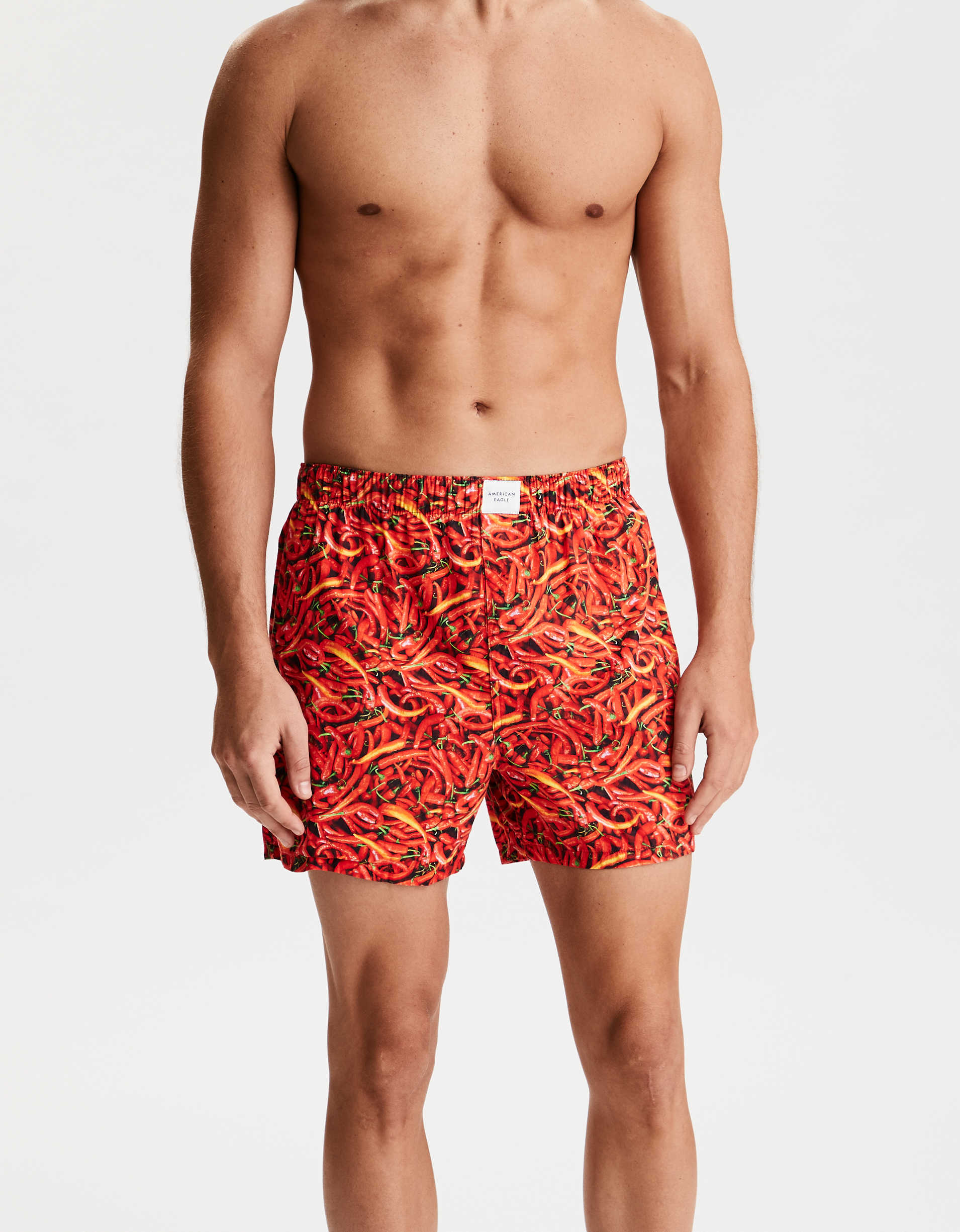 AEO Photoreal Peppers Classic Boxer