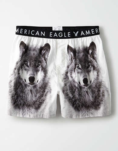 AEO Snow Wolf Boxer Short