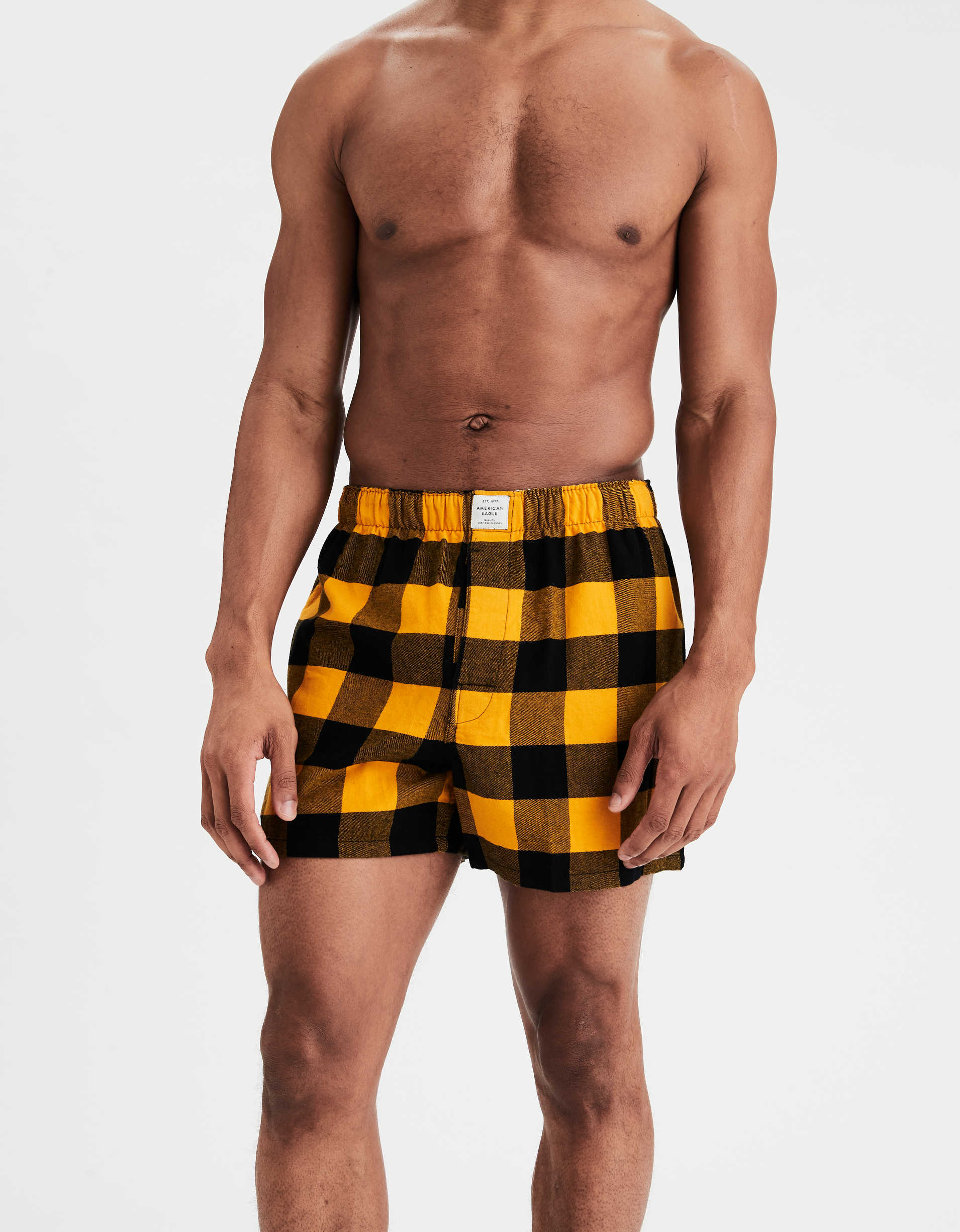 AEO Plaid Boxer Short