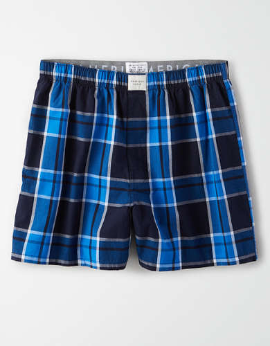 AEO Plaid Flannel Boxer Short
