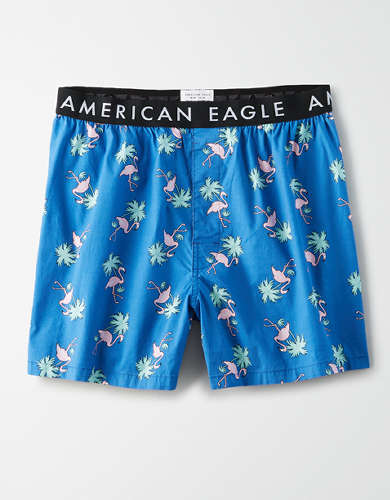 AEO Flamingo Stretch Boxer Short