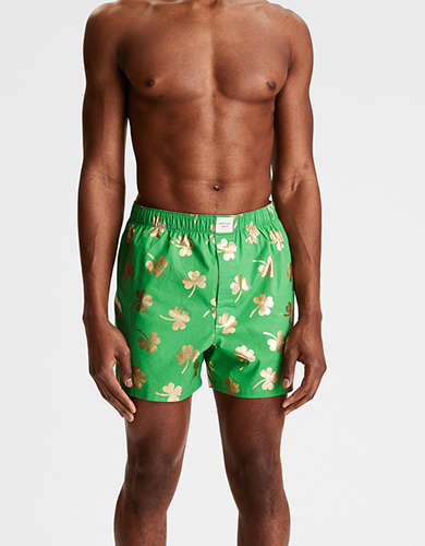 AEO Foil Clover Stretch Boxer Short