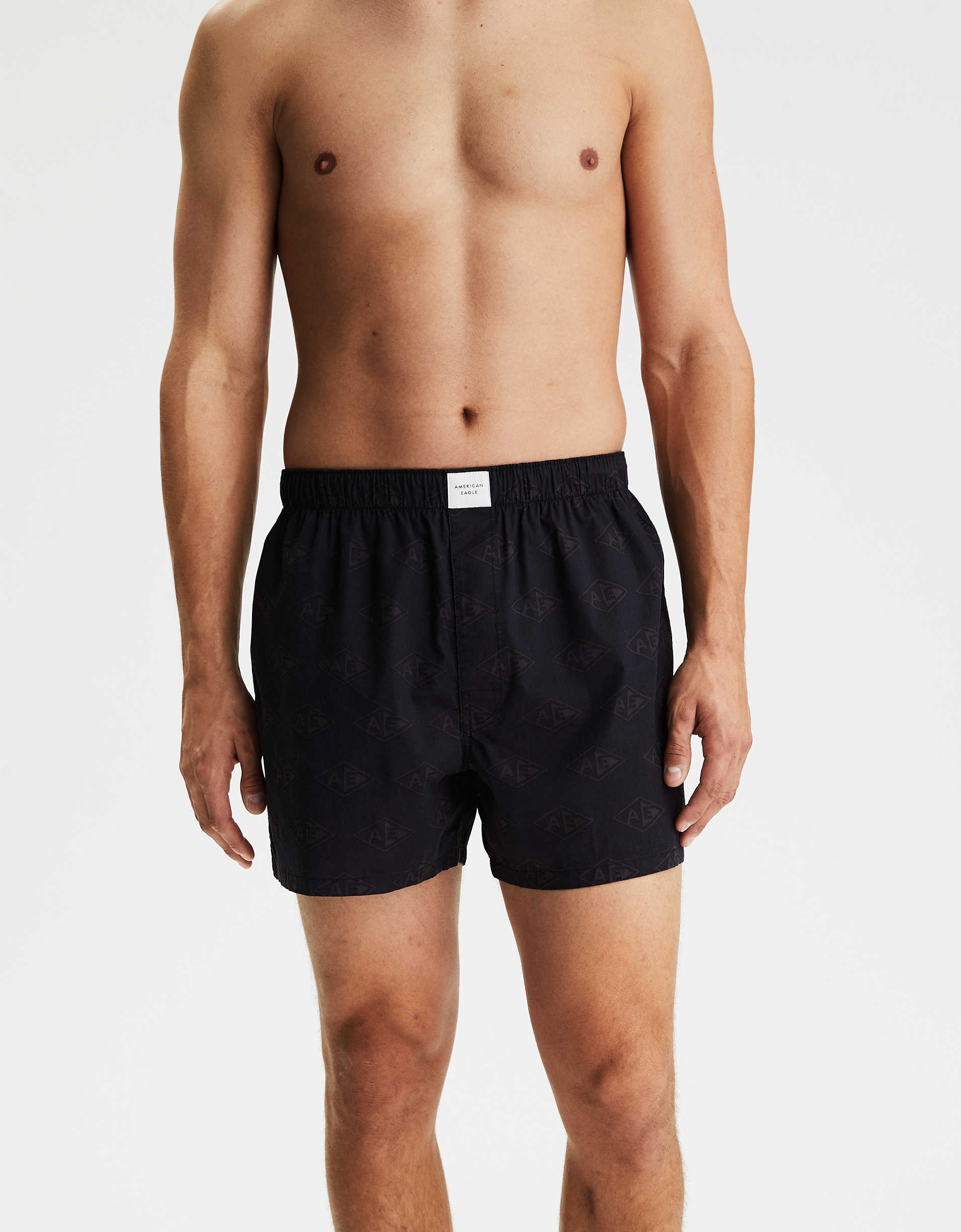AEO Diamond Logo Stretch Boxer Short
