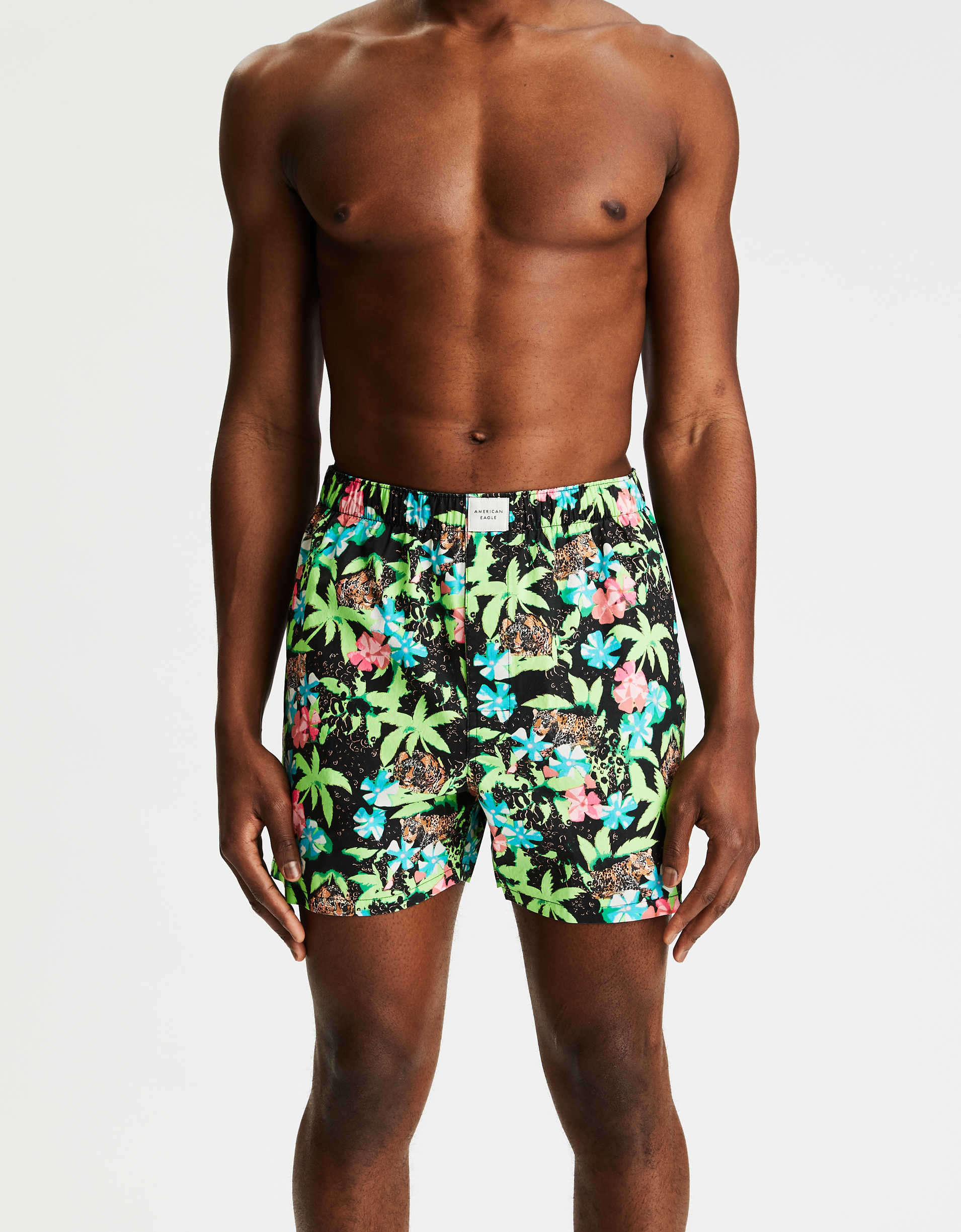 AEO Wild Tropical Stretch Boxer Short
