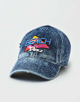 Aeo Denim Beach Daze Strapback Hat by American Eagle Outfitters