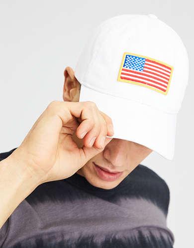 AE Flag Patch Strapback Hat