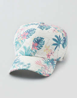 AE Tropical Florals Baseball Hat
