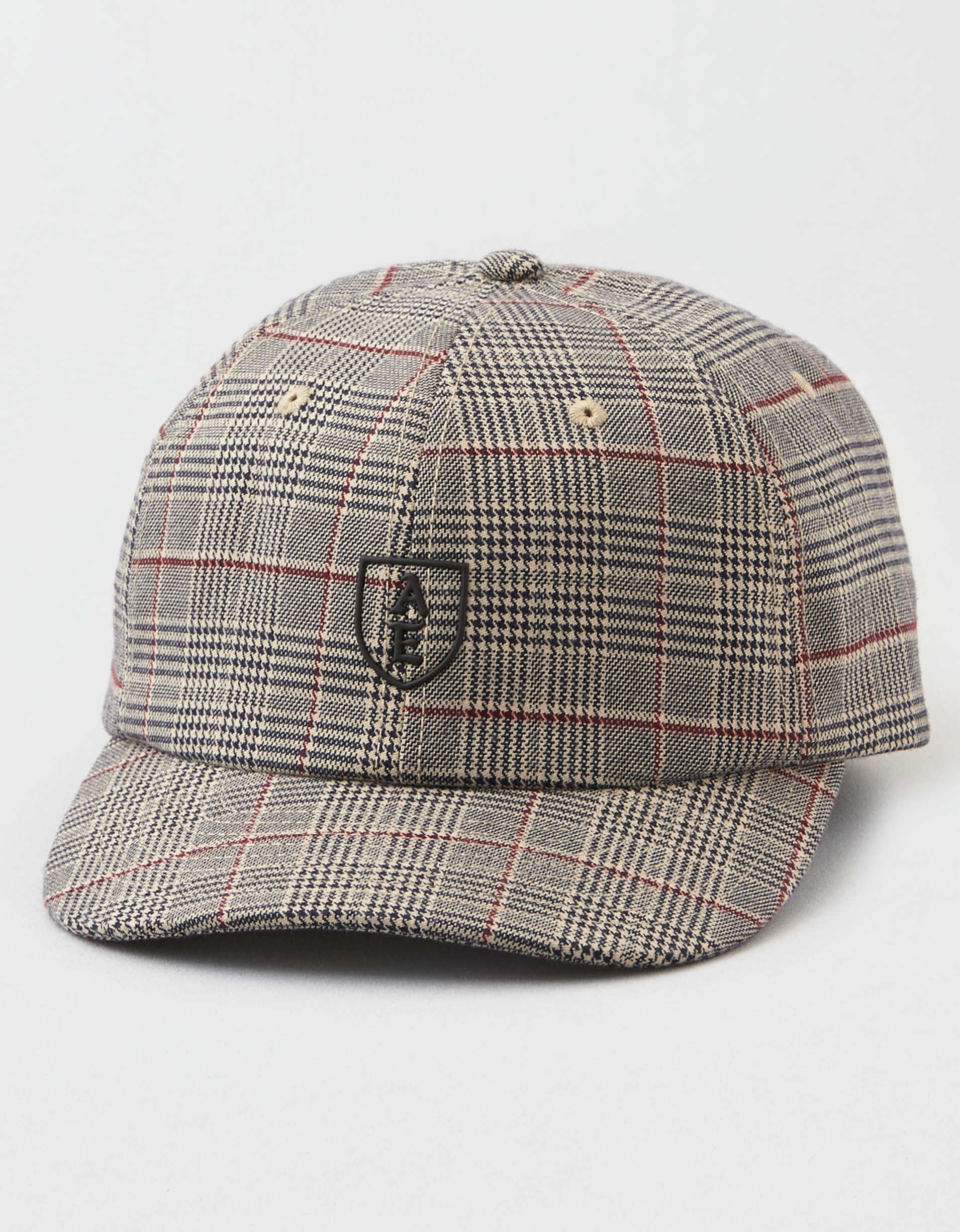 AEO Plaid Homefield Baseball Hat