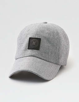 AEO Chambray Patch Baseball Cap