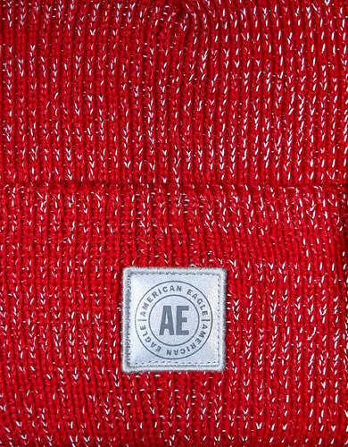 AEO Heathered Reflective Beanie