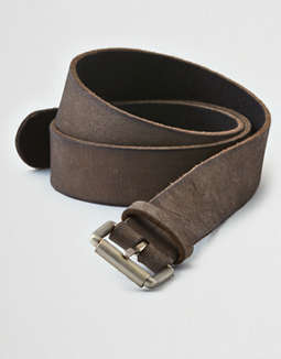 Aeo Distressed Leather Belt by American Eagle Outfitters