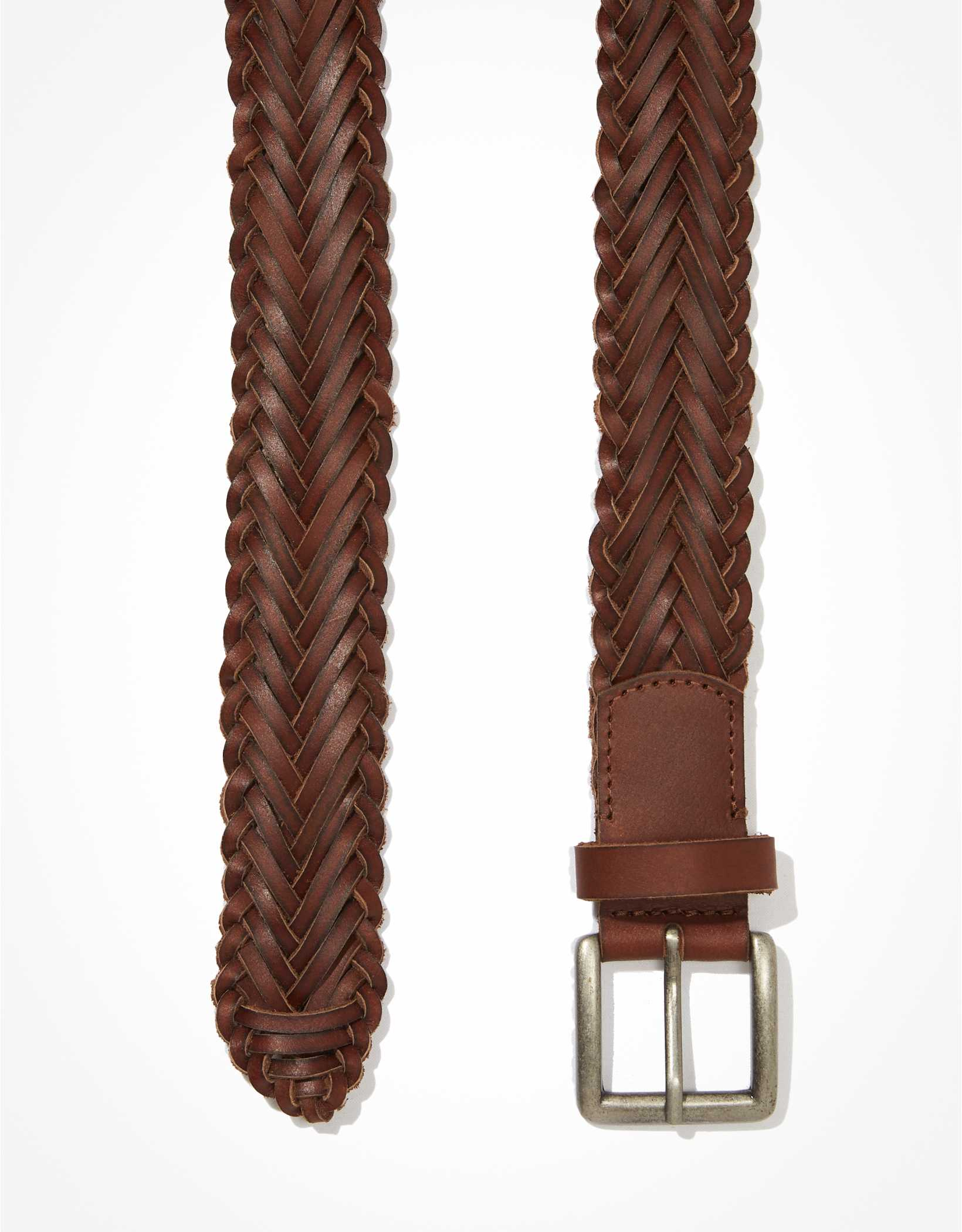 AEO Braided Leather Belt