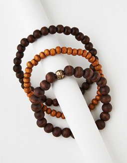 AEO Wood Bracelet Bundle