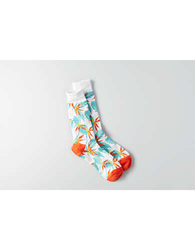 AEO Birds of Paradise Crew Socks -