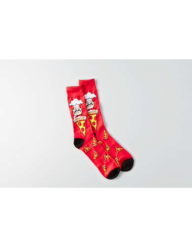 AEO Pizza Crew Socks -