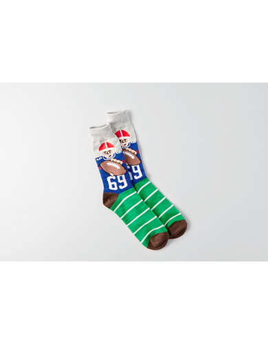 AEO Football Crew Socks - Buy One Get One 50% Off