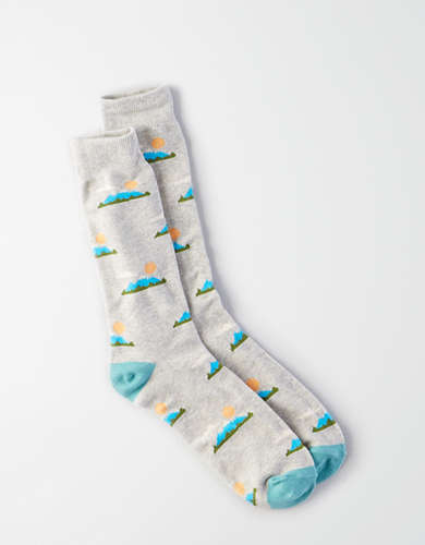 AEO Sun Mountain Crew Sock -