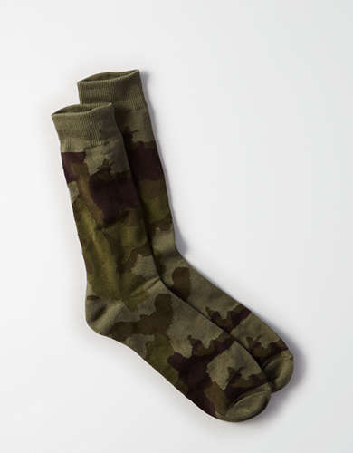 AEO Camo Crew Sock - Buy One, Get One 50% Off