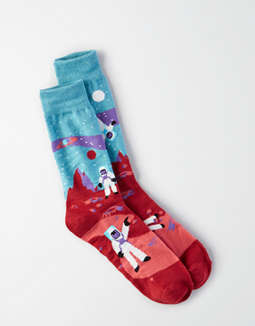 Aeo Space Boys Crew Sock by American Eagle Outfitters