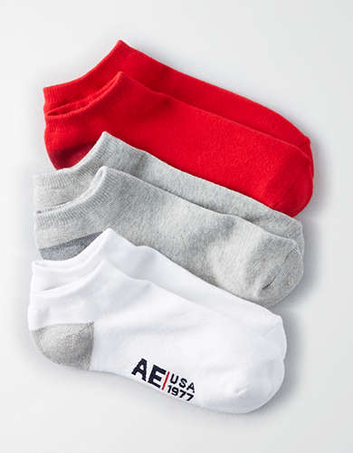 AE Low Cut Socks 3-Pack -