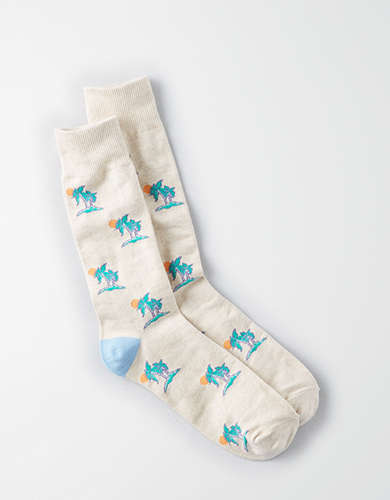 AEO Islands Crew Socks -