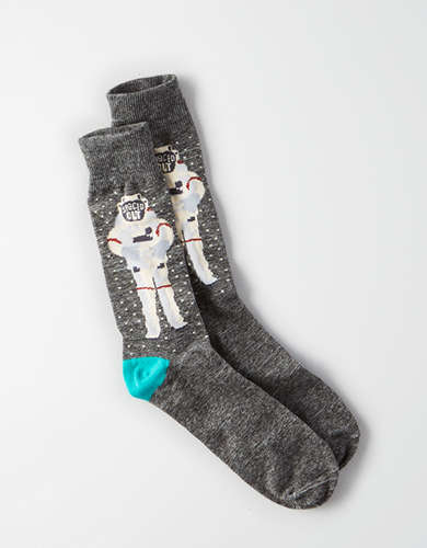 AEO Spaceman Crew Socks -