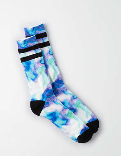 AEO Dye Effects Sports Socks -