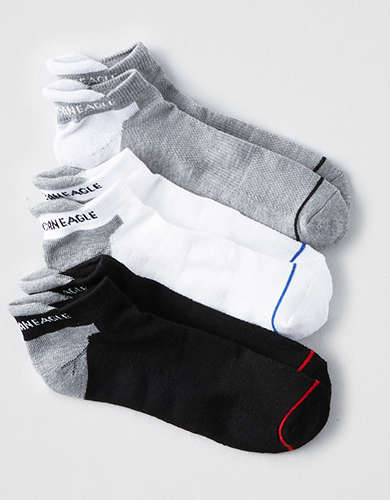 AEO Low Cut Performance Socks 3-Pack -