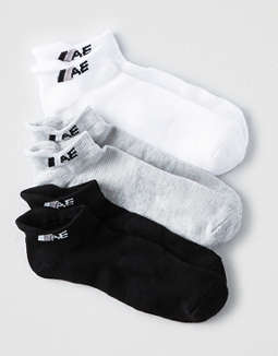 AEO Low Cut Performance Socks 3-Pack