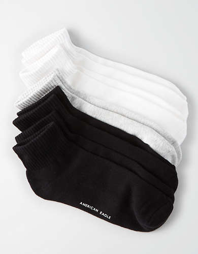 AEO Basic Sock 5-Pack - Buy One Get One 50% Off