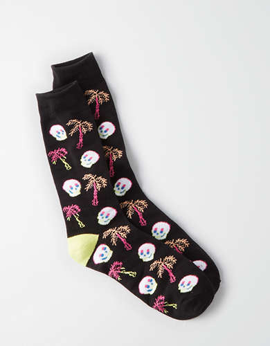 AEO Classic Crew Socks - Buy One Get One 50% Off