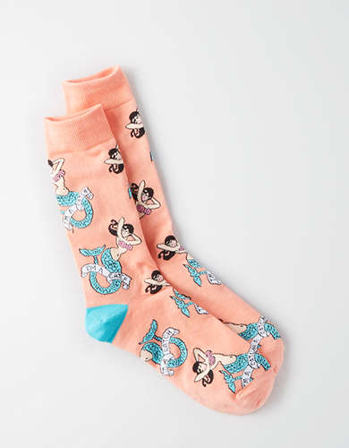AEO Mermaid Crew Socks -