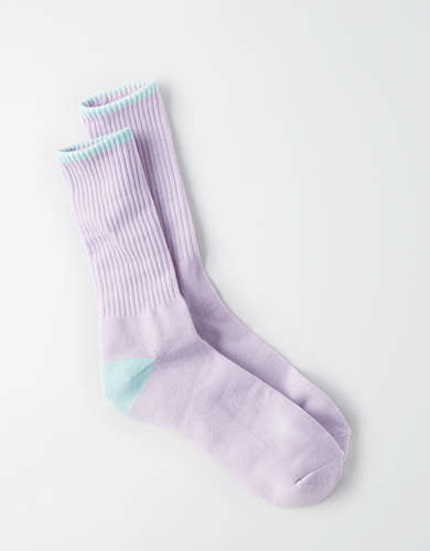 AEO Sports Print Crew Socks - Buy One Get One 50% Off