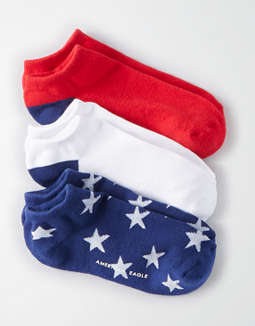 AEO Flag Print Sock Pack