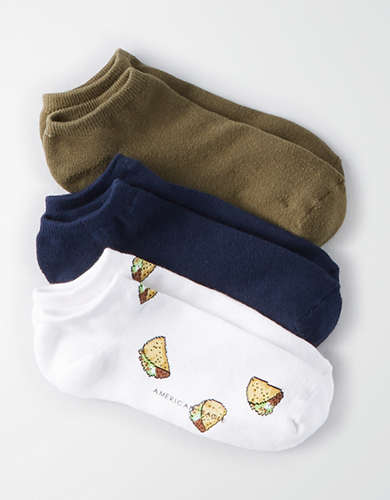 AEO Taco Crew Sock Pack - Buy One Get One 50% Off