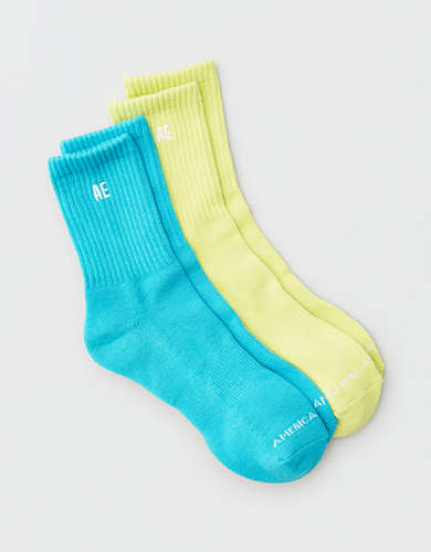 AEO Mid Length Sock 2-Pack