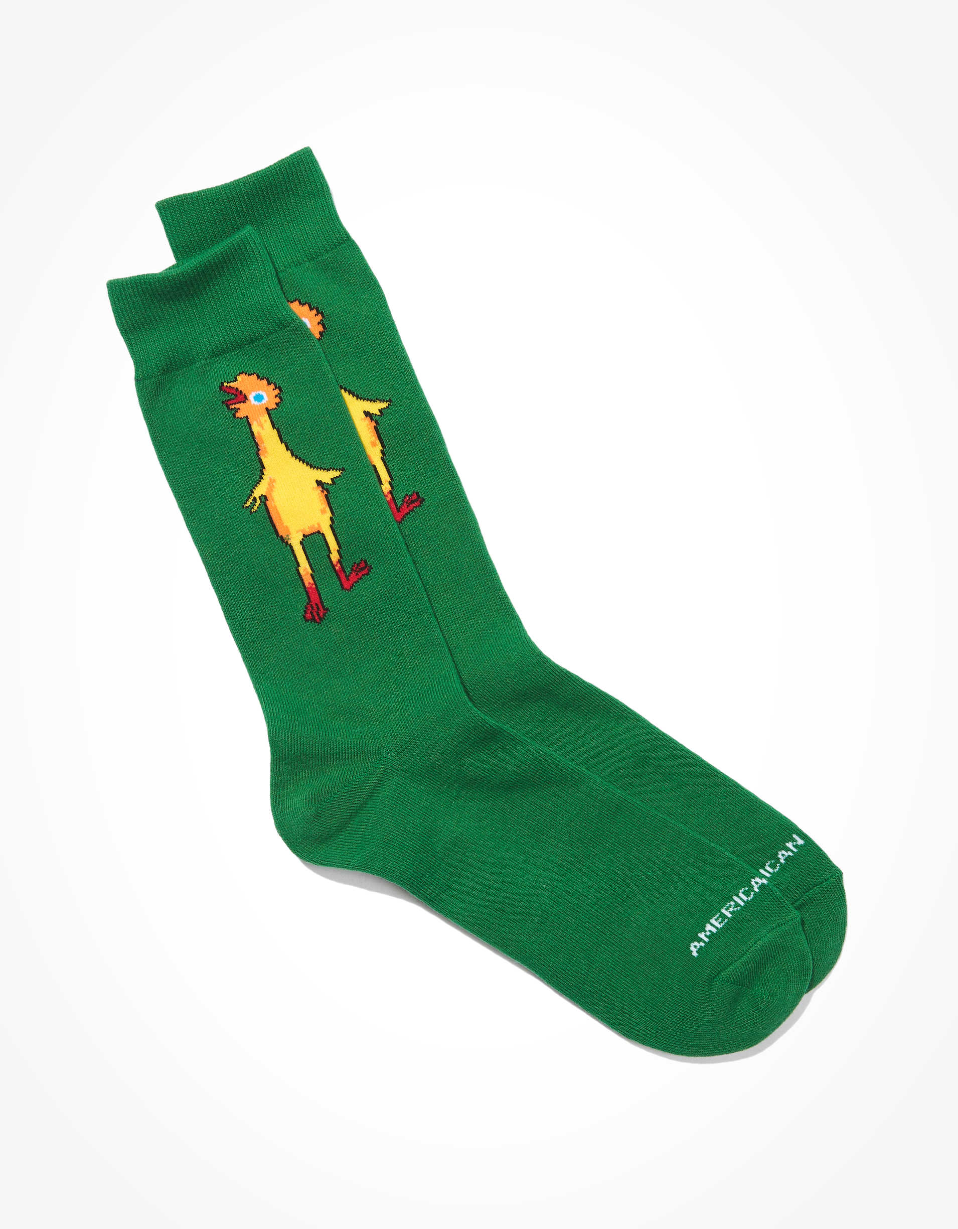 AEO Rubber Chicken Crew Sock