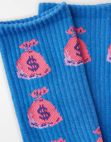 AEO Money Bags Crew Sock