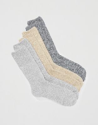 AEO Fuzzy Socks 3-Pack
