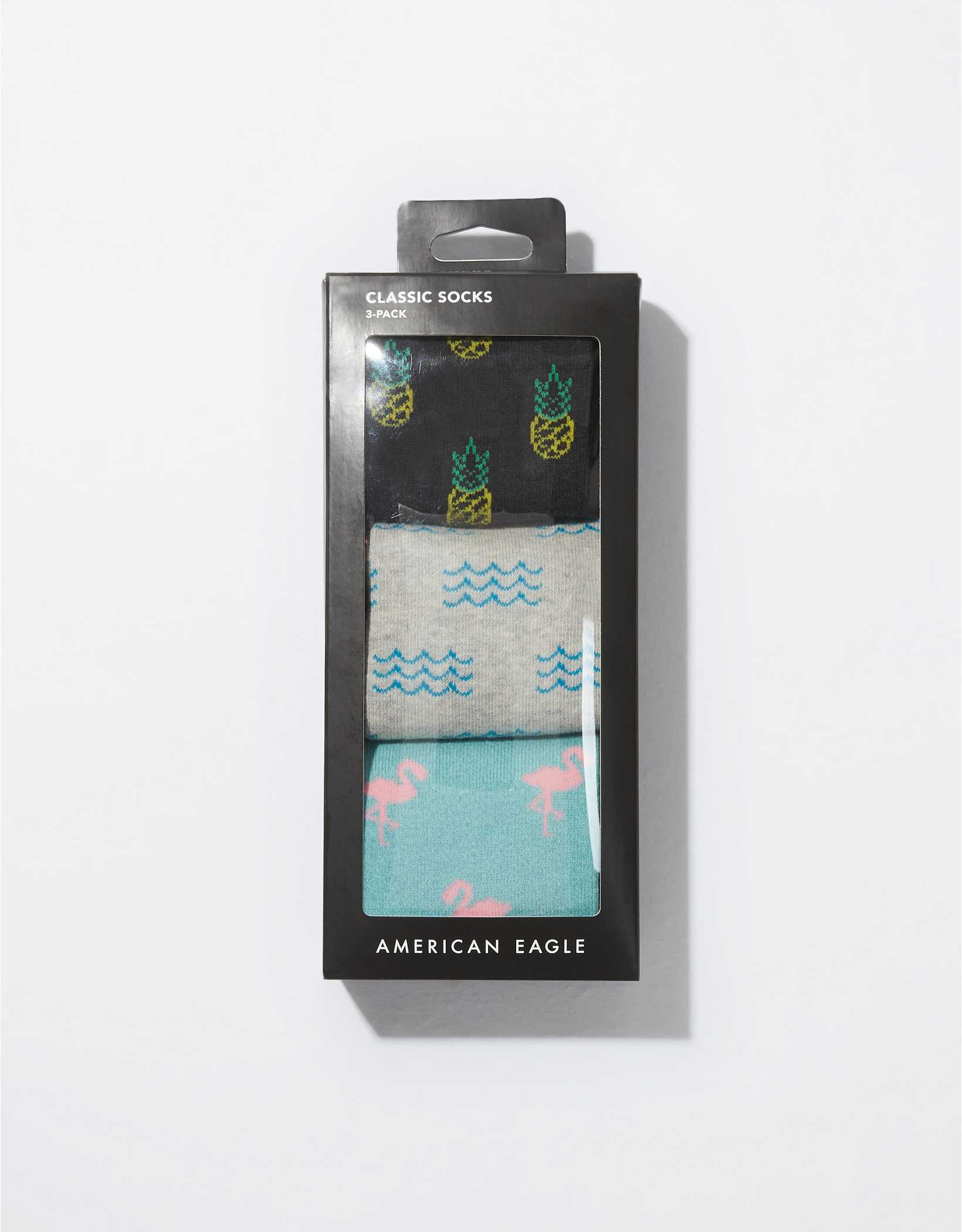 AEO Summer Classic Socks 3-Pack