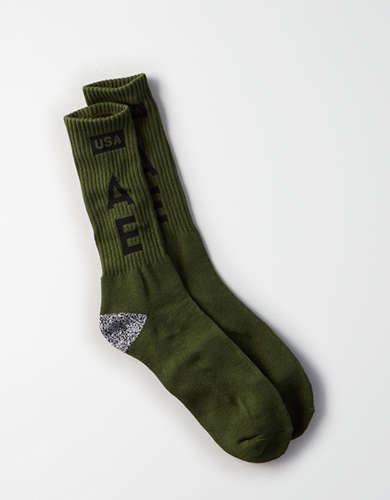 AEO Multi Logo Sports Sock - Buy One, Get One 50% Off