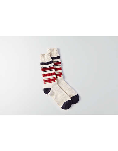 AEO Stripe Boot Socks -