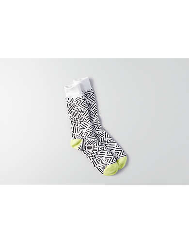 AEO Squiggle Crew Socks - Buy One Get One 50% Off