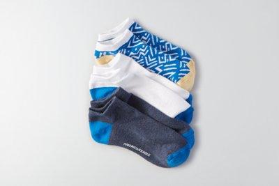 Low-Cut Socks 3-Pack