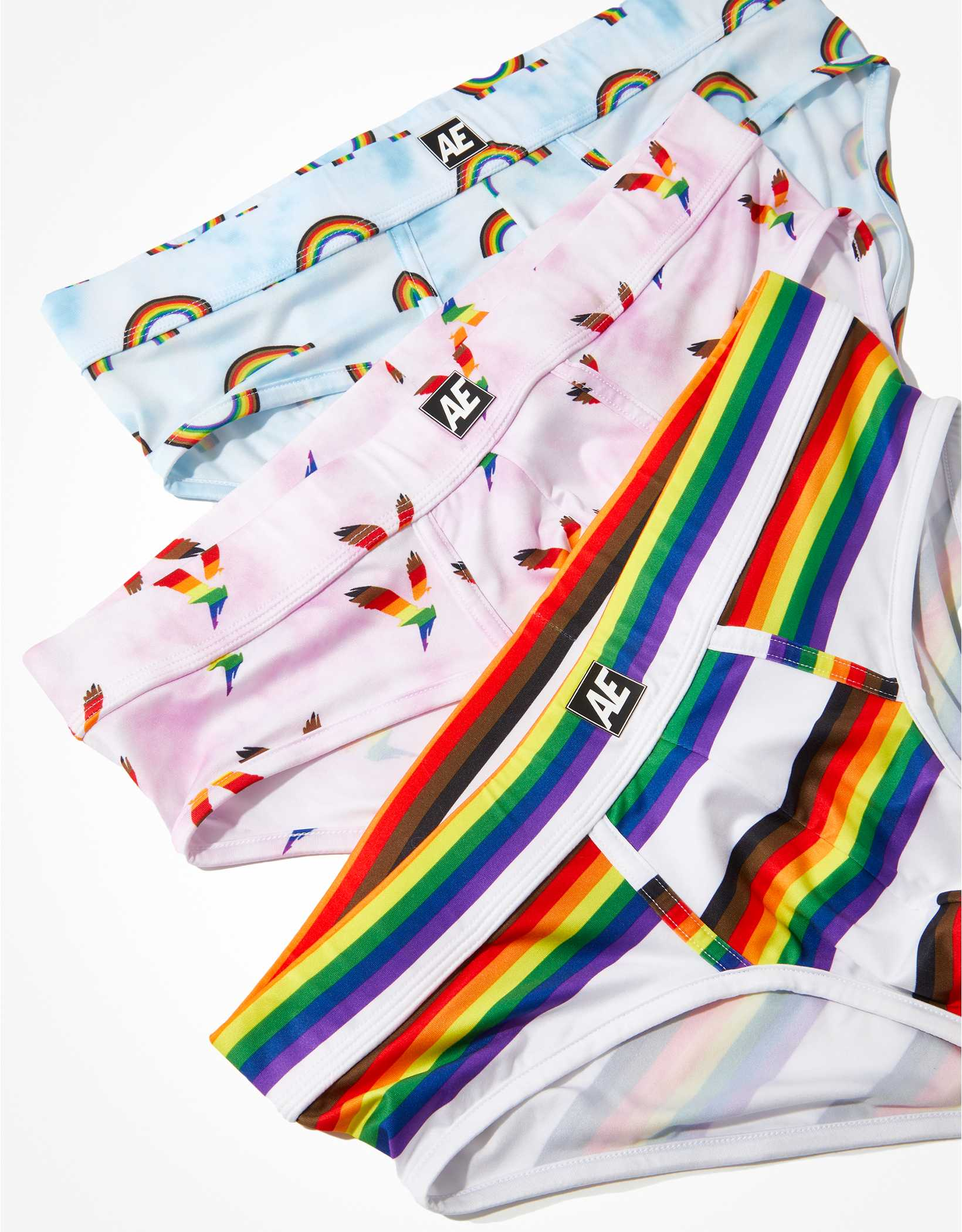 AEO Pride Flex Brief 3-Pack