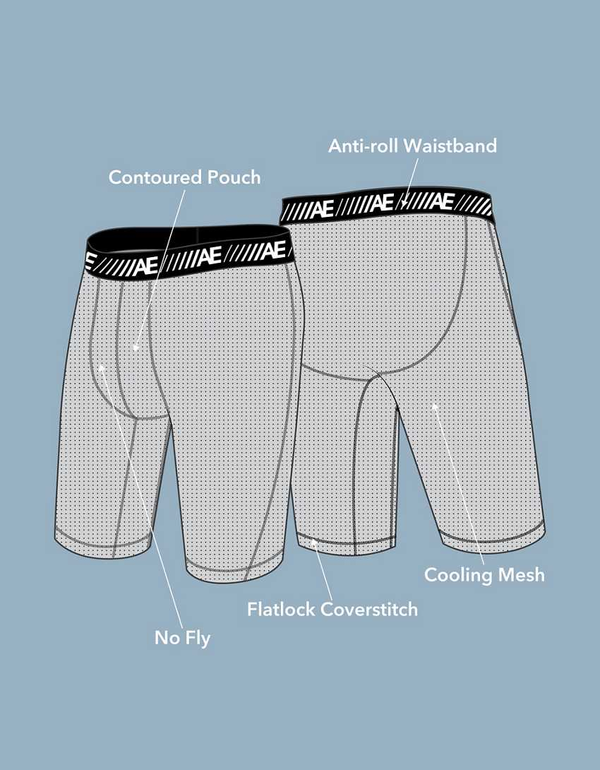 """AEO 9"""" Cooling Boxer Brief"""