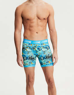 "AEO Tropical Fish 6"" Cooling Boxer Brief"