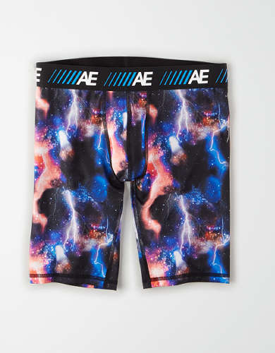 "AEO Rainbow Space 9"" Cooling Boxer Brief"
